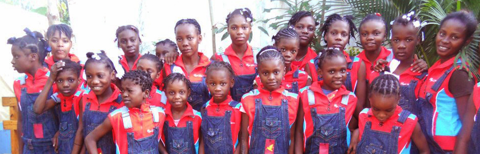H.O.W is providing school uniforms for Orphanages throughout Haiti.
